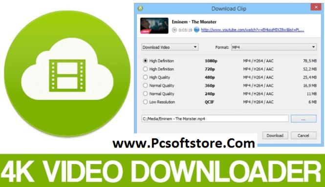 4K Video Downloader 4.16.0.4250 + Crack Latest [2021]