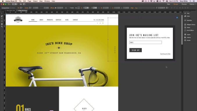 Adobe Muse CC 2018.1.0.266 latest version full cracked
