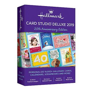 Hallmark Card Studio 2019 Deluxe Crack Free download