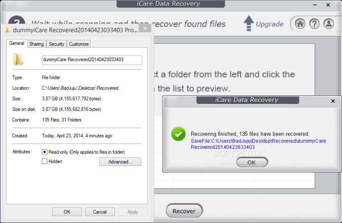 Download iCare Data Recovery Pro 8 Keygen For Free