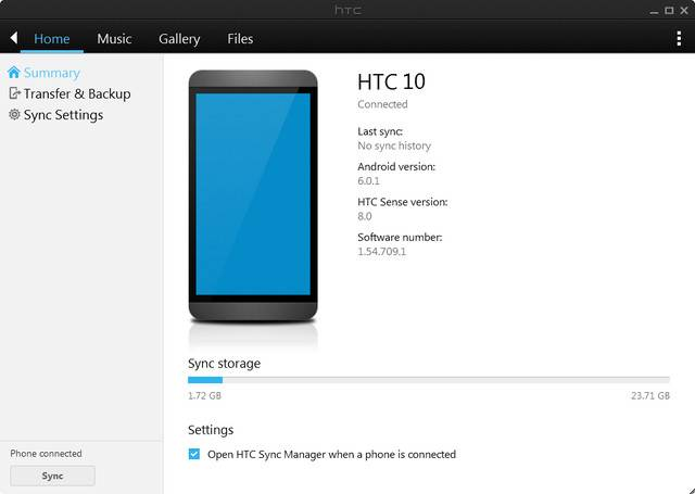 HTC Sync Manager Download