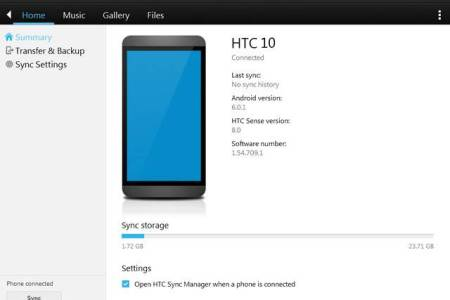 HTC Sync Manager Free Download for Windows