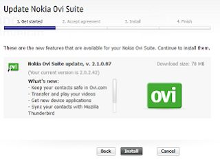 Nokia OVI Suite Latest Version For Windows Free Download