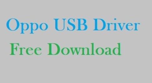 Download Oppo USB Driver