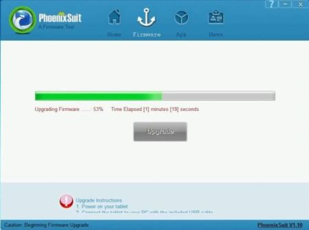 PhoenixSuit – Allwinner Flash Tool Free Download