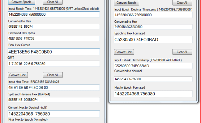 Wireshark And Tshark Timestamps Pc S Xcetra Support