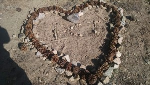 Trail Heart Art