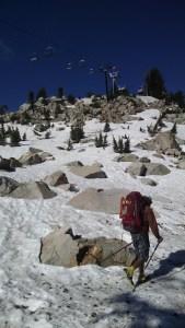 Resort climb