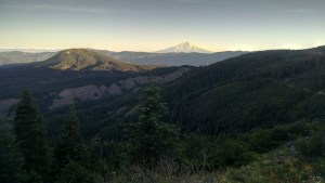 Mount Shasta in the Morning