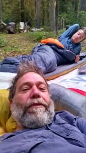 Cowboy Camping Selfie