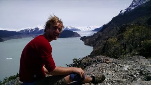 Lunch stop near Grey Glacier