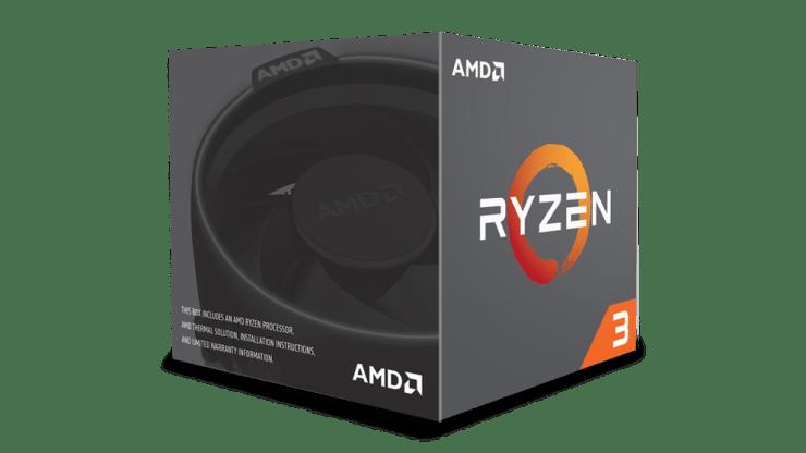 AMD Ryzen 3 pudełko