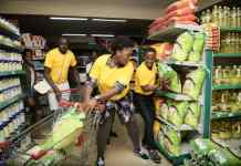 Sharon Tumusime takes 60 seconds to shop anything of her interest after emerging as a winner of MTN MoMoPay.