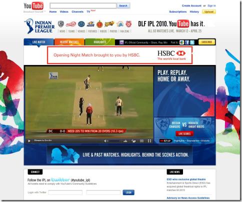 IPL YouTube
