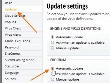 avast virus alert sound