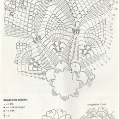 Pineapple Crochet Doily Diagram Wiring For Two Dual 4 Ohm Subs To Mono 1 1000 43 Images About On Pinterest