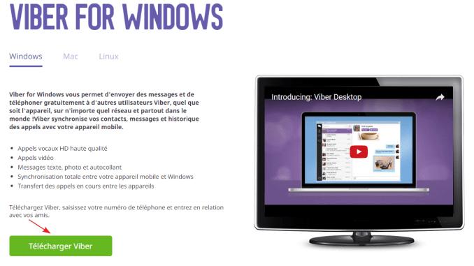 Comment installer Viber (Vayber) sur un ordinateur