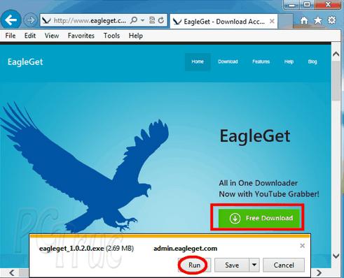 Téléchargez rapidement des fichiers avec EagleGet
