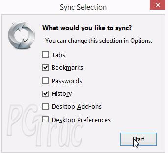 Sign in to Sync, Mozilla Firefox, mozilla, firefox, accéder historique firefox