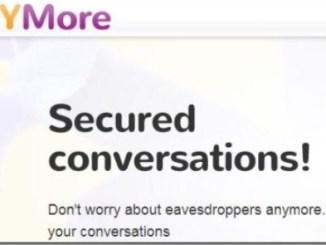 YMore, conversation secrette, compte messenger, Messenger, sécurité messages