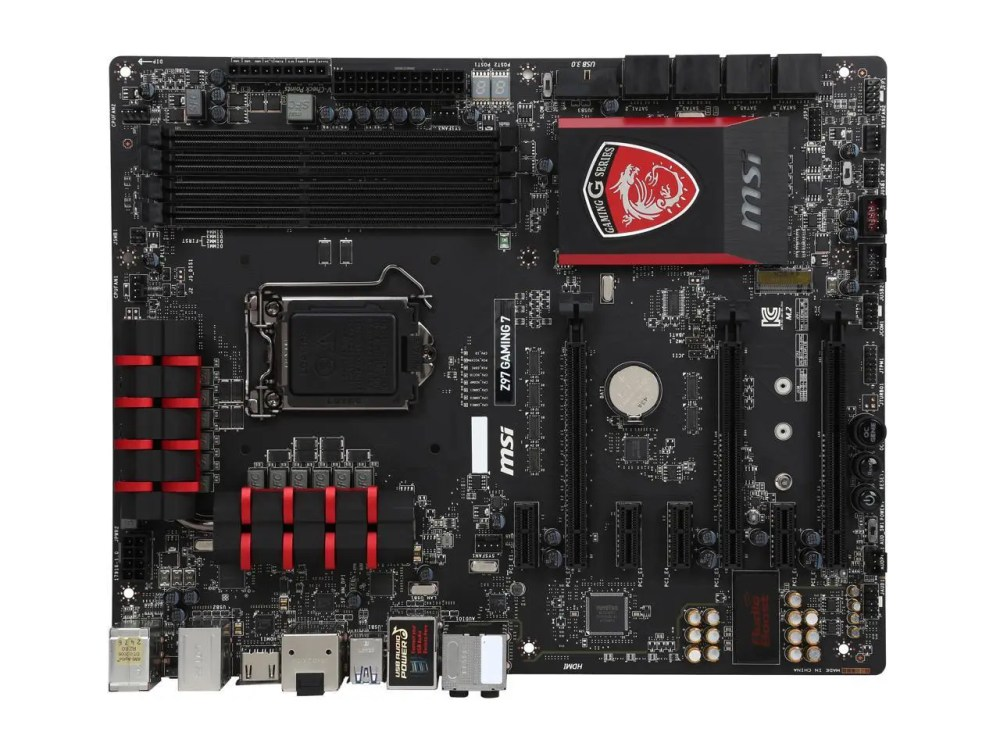 MSI Z97-Gaming 7 LGA 1150 Intel Z97 HDMI SATA 6 GB/s USB 3.0 ATX Intel Motherboard