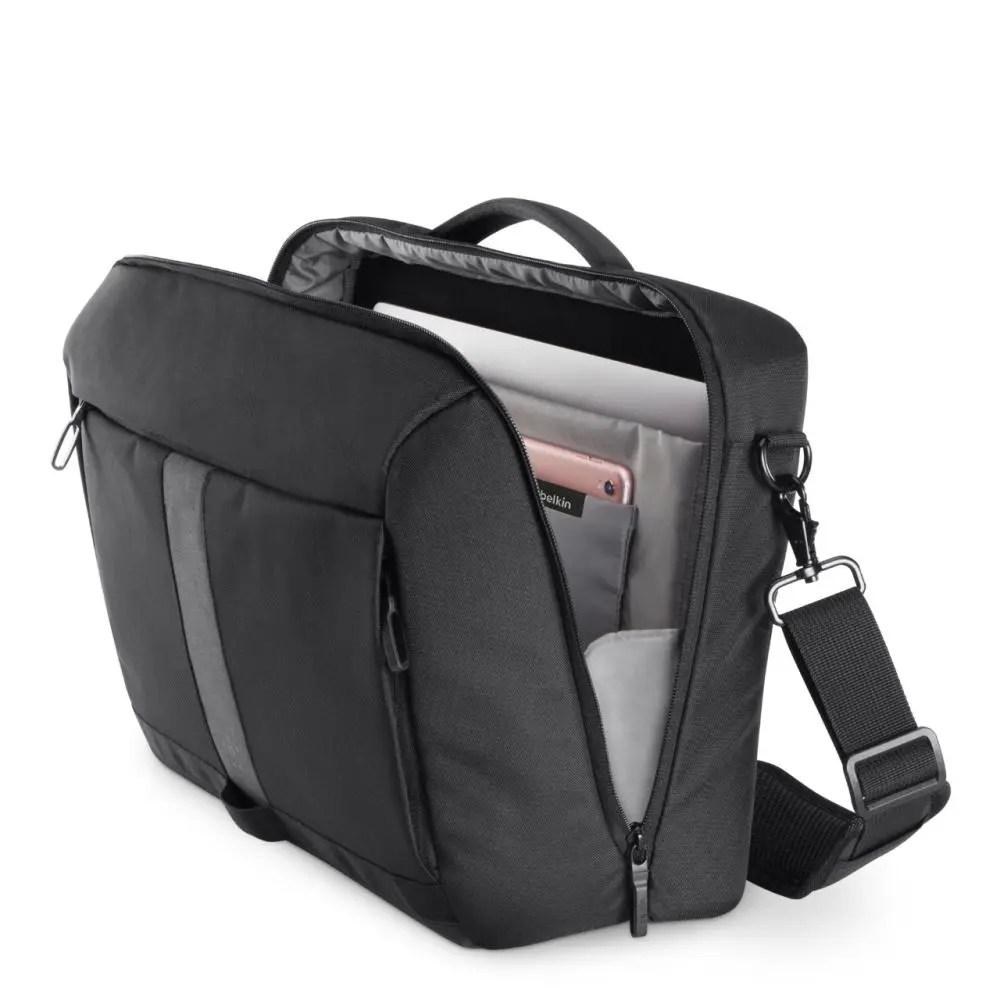 """Belkin Active Pro 15.6"""" Laptop Messenger Bag (F8N903btBLK)"""