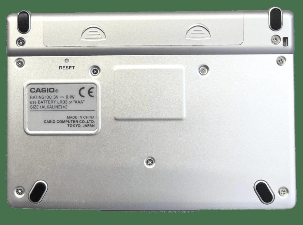 Casio EW-S2000 Spanish-English Electronic Dictionary