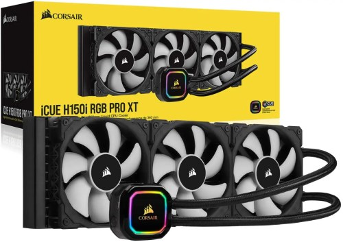 CORSAIR iCUE H150i RGB PRO XT Liquid CPU Cooler (CW-9060045-WW)