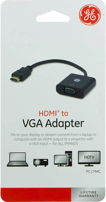 GE HDMI to VGA Adapter (33588)