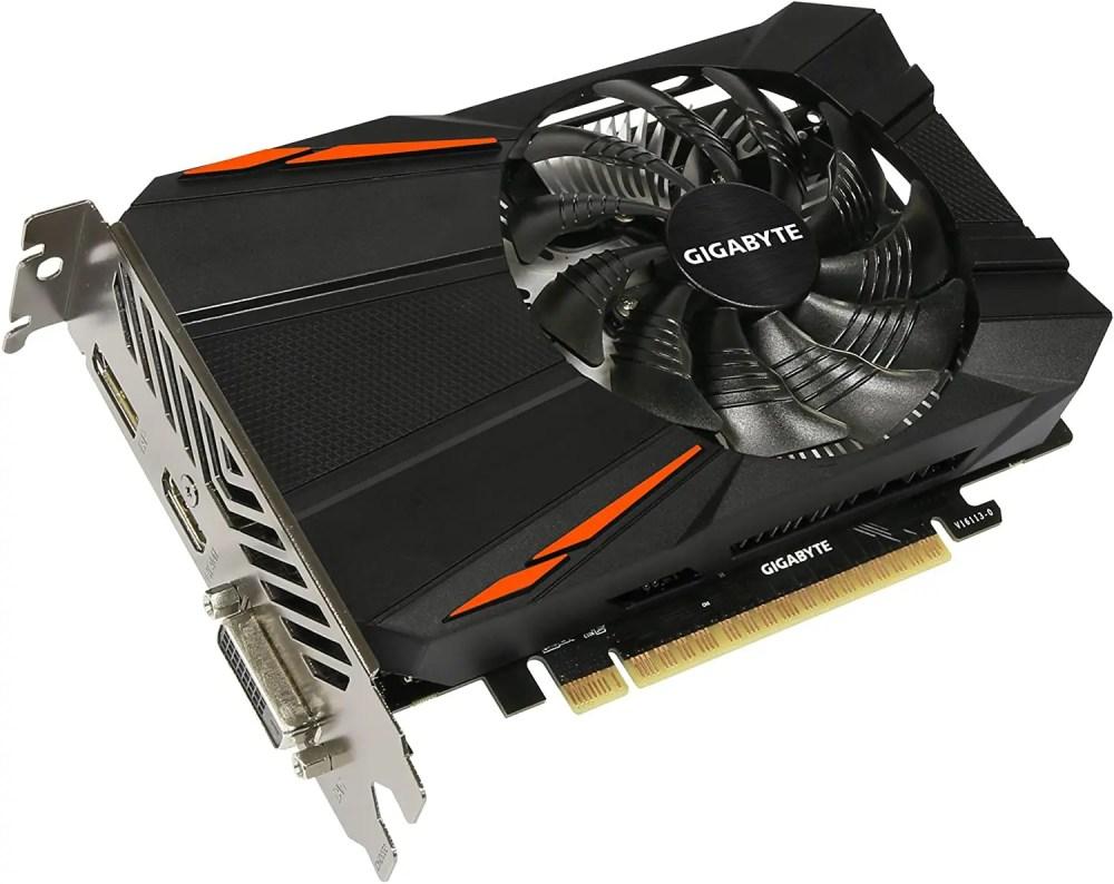 GIGABYTE GeForce GTX 1050 Ti D5 Graphics Card (GV-N105TD5-4GD)