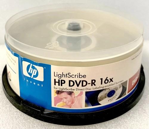 HP LightScribe DVD-R 16x Blank Media (LDM00052XM)
