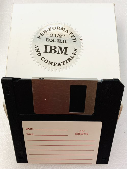 """IBM-Formatted 3.5"""" Floppy Diskettes DS/HD (10 Pack)"""