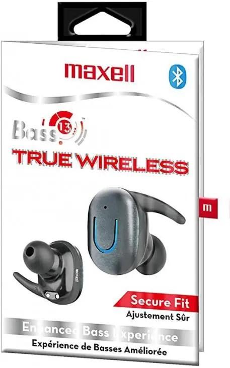 Maxell Bass13 True Wireless Bluetooth Earbuds (199899)