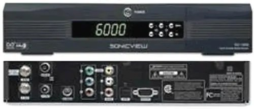 Sonicview SV-1000 Free-to-Air Digital Satellite Receiver