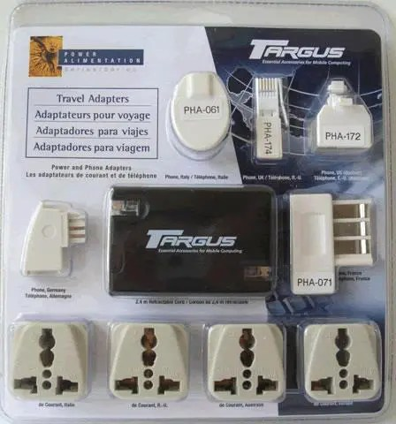 Targus Travel Adapter Set