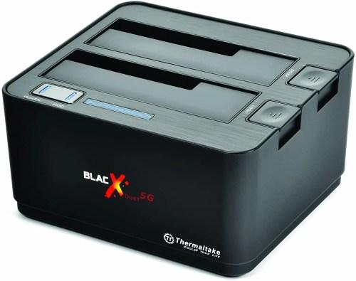 "Thermaltake BlacX Duet 5G 2.5""/3.5"" USB 3.0 Hard Drive Docking Station (ST0022U)"