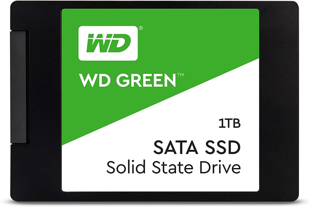 Western Digital WD Green 1 TB Internal SATA SSD (WDS100T2G0A)