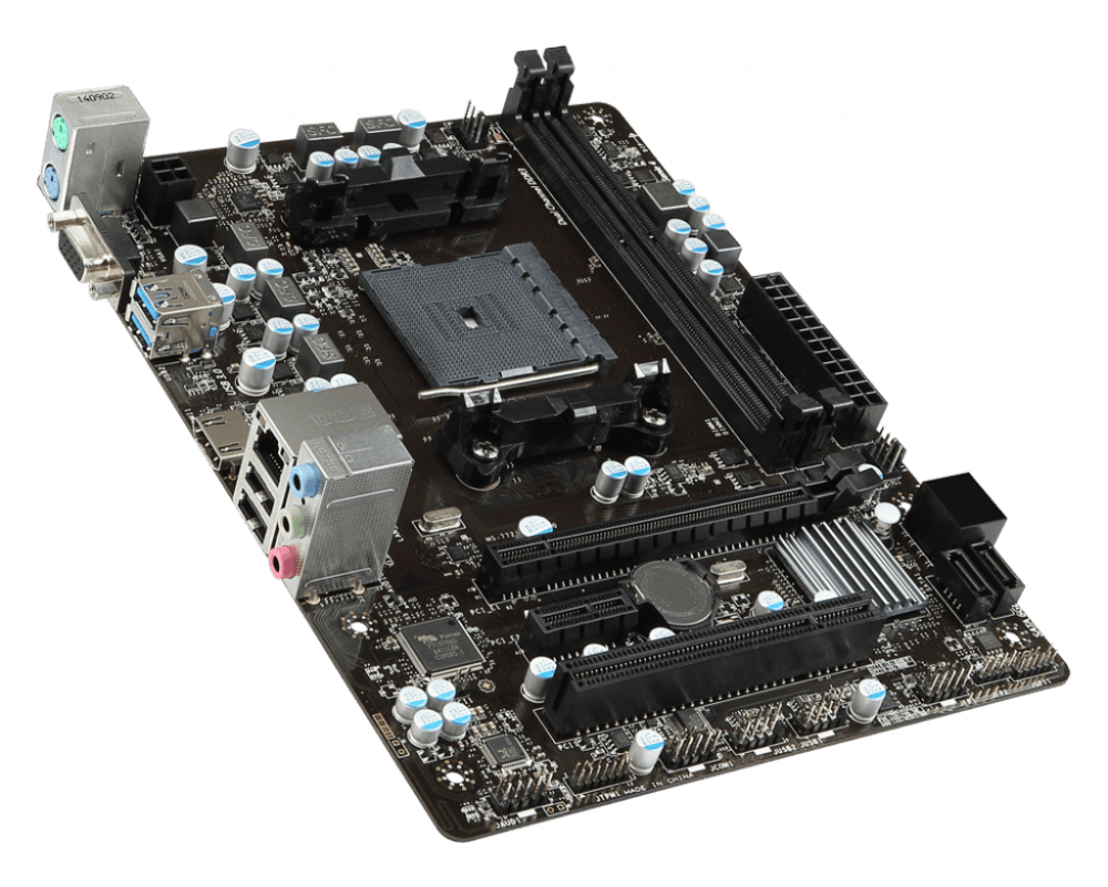 MSI A68HM-E33 V2 FM2+ AMD A68H SATA 6 GB/s USB 3.0 HDMI Micro ATX AMD Motherboard