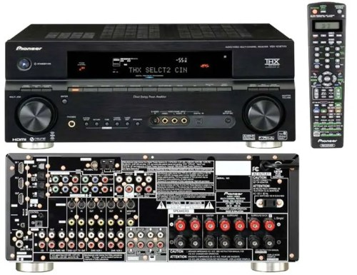 Pioneer VSX-1016TXV-K 7.1 Channel AV Receiver with Remote