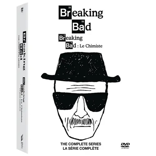 Breaking Bad: The Complete Series DVD Box Set (Bilingual)