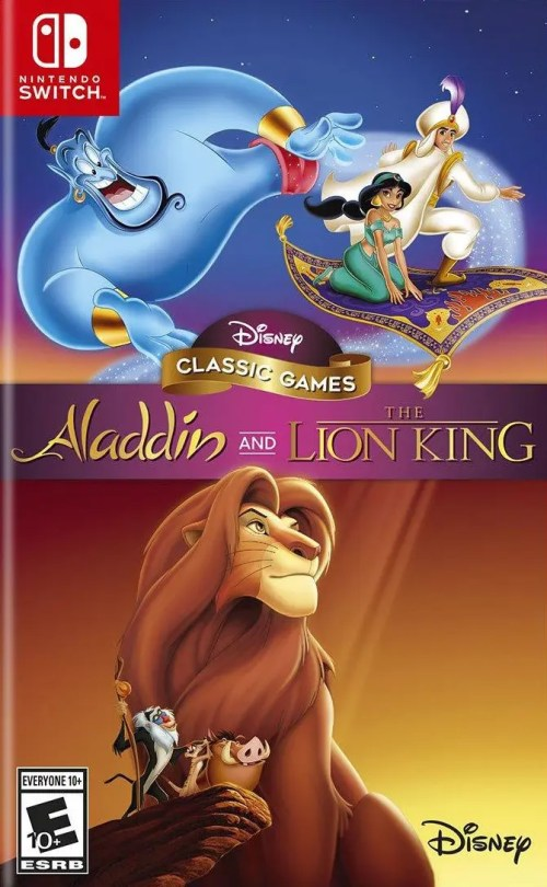 Disney Classic Games: Aladdin and The Lion King for Nintendo Switch