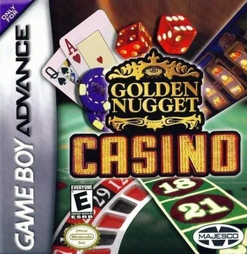 Golden Nugget Casino for Nintendo Game Boy Advance