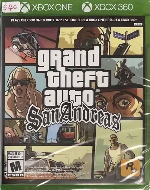 Grand Theft Auto: San Andreas for Xbox One & Xbox 360