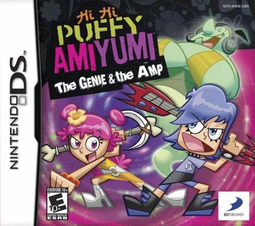 Hi Hi Puffy AmiYumi: The Genie & the Amp for Nintendo DS