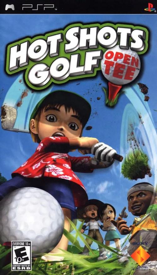 Hot Shots Golf: Open Tee for PSP