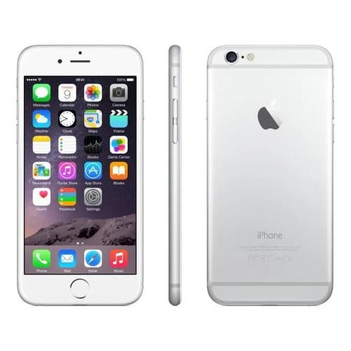 Apple iPhone 6 (16 GB, Silver, Unlocked) (MG3C2CL/A)