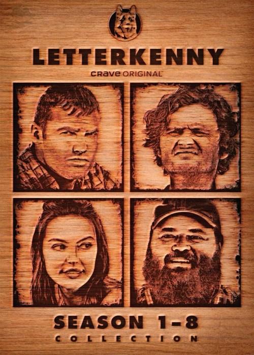 Letterkenny: Season 1-8 Collection DVD Box Set