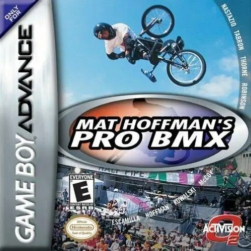Mat Hoffman's Pro BMX for Nintendo Game Boy Advance