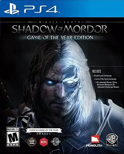 Middle-Earth: Shadow of Mordor (Game of the Year Edition) for PS4
