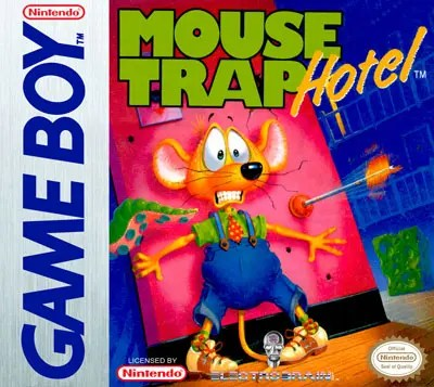 Mouse Trap Hotel for Nintendo Game Boy